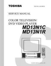 Buy TOSHIBA MD13N1C MD13N1R SVCMAN Service Schematics by download #160149