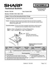 Buy Sharp FAX236 Technical Bulletin by download #138967