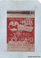 Buy CT Meriden Matchcover Wayside Men's Clothing Co Berlin Turnpike ct_box3~1216