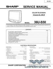 Buy Sharp 36U-S50B Manual.pdf_page_1 by download #178369