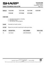 Buy Sharp VCT510HM-003 Service Schematics by download #159384