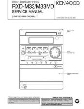 Buy KENWOOD RXD980 Service Manual by download #152041