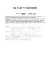 Buy TOSHIBA 36HF70 36HFX70 CD Service Schematics by download #159951