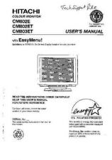 Buy Sanyo CM802E NL Manual by download #173600
