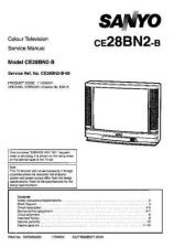 Buy Sanyo CE28BN2-B-00 SM-Only Manual by download #173089