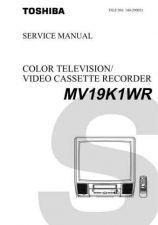 Buy TOSHIBA MV19K1WR Service Schematics by download #160249