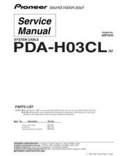 Buy PIONEER A3243 Service Data by download #148728