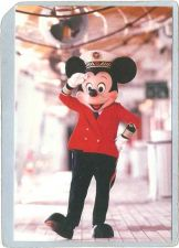 Buy GEN Unknown Amusement Park Postcard Disney Cruise Line Captain Mickey Salu~217
