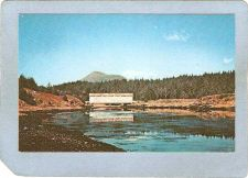 Buy AK Afognak Island Covered Bridge Postcard Afognak Island Bridge Over Afogn~10
