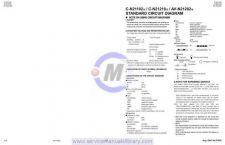 Buy Sharp CD302-E-X-H-310H SM SUPPLEMENT GB-DE-FR Manual by download #179805