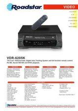Buy ROADSTAR VDR-6205K by download #128576