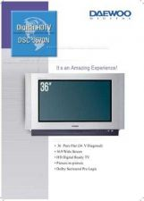 Buy DAEWOO DSC34W70N BROCHURE Manual by download #183981