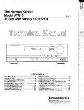 Buy Harman Kardon AVAP1G RECEIVER SM Manual by download Mauritron #185578