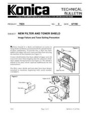 Buy Konica 03 NEW FILTER AND TONER SHI Service Schematics by download #135840