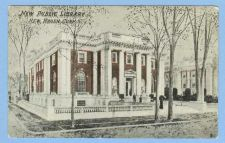 Buy CT New Haven New Public Library Street Scene Intersection w/Library Buildi~566