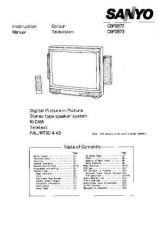 Buy Sanyo CBP287 Manual by download #171358