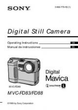 Buy SONY MVC-FD83-88 OPERATING GUIDE by download #167115