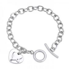 Buy Stainless Steel Charm Bracelet