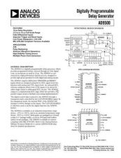 Buy INTEGRATED CIRCUIT DATA AD9500J Manual by download Mauritron #186393