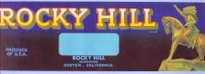 Buy CA Exeter Fruit Crate Label Rocky Hill Brand Rocky Hill Incorporated Circa~32