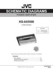 Buy JVC KS-AX5500J sch Service Schematics by download #156244