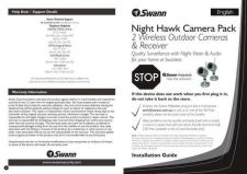 Buy Swann SW244-8CP QS ENG V3 Instructions by download #180989