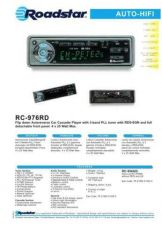 Buy ROADSTAR RC-976RD by download #128418