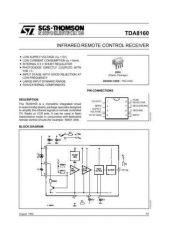 Buy MODEL TDA8160 Service Information by download #124820