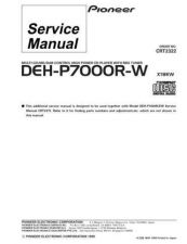 Buy PIONEER C2322 Service Data by download #148837
