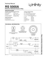 Buy INFINITY RS 5000A TS Service Manual by download #147685