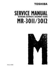Buy Toshiba MR3011 12 SERV Service Manual by download #139339