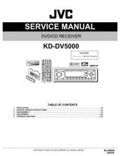 Buy JVC KD-DV5000 TECHNICAL DATA by download #131109