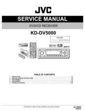 Buy JVC KD-DV5000 TECHNICAL DATA by download #131109