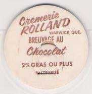 Buy CAN Warwick Milk Bottle Cap Name/Subject: Cremerie Rolland Breuvage Au Cho~53