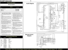 Buy SHARP 6606H Service Manual by download #149809