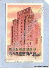 Buy CT Bridgeport Hotel Barnum Street Scene w/Old Cars ct_box1~251