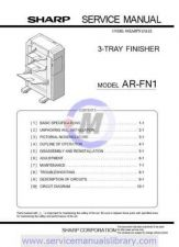 Buy Sharp ARFN3 PG GB Manual by download #179616