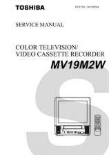 Buy TOSHIBA MV19M2W Service Schematics by download #160259