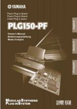 Buy Yamaha PLG150PFE Operating Guide by download Mauritron #204051