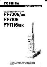 Buy Toshiba FT7517 Manual by download #172087