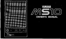 Buy Yamaha MS10 EN Operating Guide by download Mauritron #204874