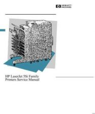 Buy HP LASERJET 5SI SERVICE MANUAL by download #147593