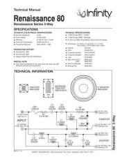 Buy INFINITY RENAISSANCE 80 (BLACK LAQUER) TS Service Manual by download #147664