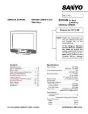 Buy Sanyo DS13310 & DS19310(OM) Manual by download #173989