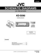Buy JVC KD-S590 SCHEM TECHNICAL DATA by download #131178