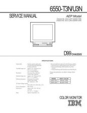 Buy SONY 6550-T3NU3N Service Manual by download #166197