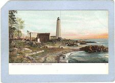 Buy CT New Haven Lighthouse Postcard New Haven Lighthouse UDB lighthouse_box1,~100