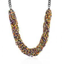Buy Multicolor Acrylic Bead Twisting Necklace