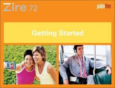 Buy PALM ZIRE72 GETTING STARTED GUIDE EN by download #127542