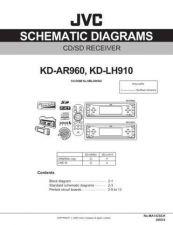 Buy JVC KD-LH910 AR-960 sch Service Schematics by download #156111